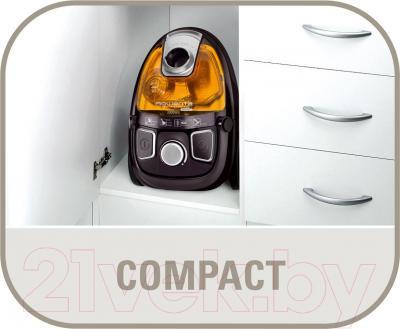 Пылесос Rowenta RO539621 Compacteo Ergo Cyclonic - компактный