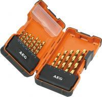 Набор сверл AEG Powertools HSS-G DIN 338 -