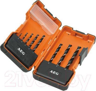 Набор сверл AEG Powertools POWER DIN 7487 E - общий вид