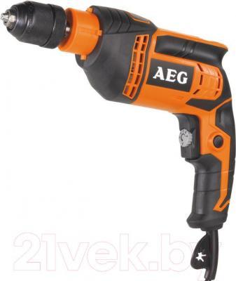 Профессиональная дрель AEG Powertools BE 650 R - общий вид