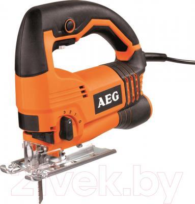 Профессиональный электролобзик AEG Powertools STEP 90 X (4935412910) - общий вид