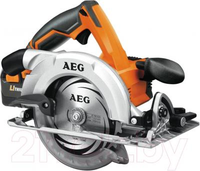 Дисковая пила AEG Powertools BKS 18 Li-302C - общий вид