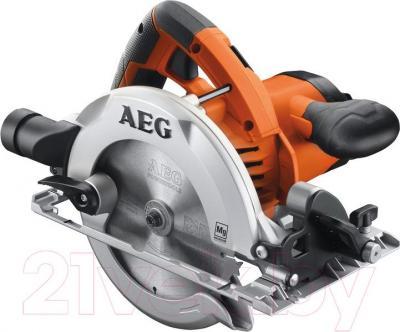 Профессиональная дисковая пила AEG Powertools KS 55-2 - общий вид