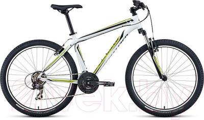 Велосипед Specialized HardRock 26 (White-Lime-Black) - общий вид