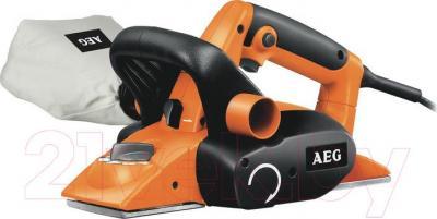 Профессиональный электрорубанок AEG Powertools PL 750 - общий вид