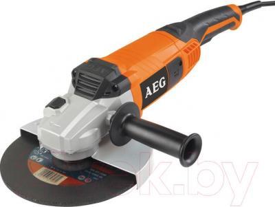Профессиональная болгарка AEG Powertools WS 2200-180 DMS (4935428490) - общий вид