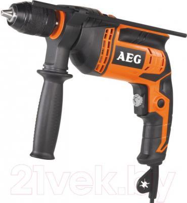 Профессиональная дрель AEG Powertools SBE 650 R - общий вид