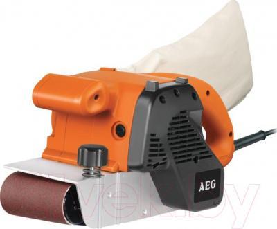 Профессиональная ленточная шлифмашина AEG Powertools BBSE 1100 (4935375227) - общий вид