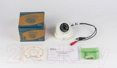Аналоговая камера RVi C311B - комплектация