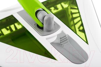 Электровеник Kitfort KT-508-1 (бело-зеленый) - переключатель