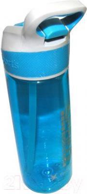 Бутылка для воды NoBrand CG-850 (голубой) - общий вид