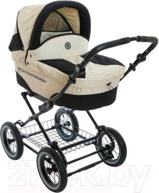 Детская универсальная коляска Roan Rocco (Pearl) - общий вид