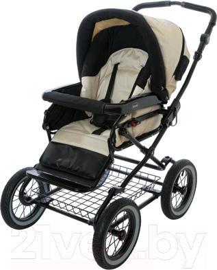 Детская универсальная коляска Roan Rocco (Anthracite) - прогулочная