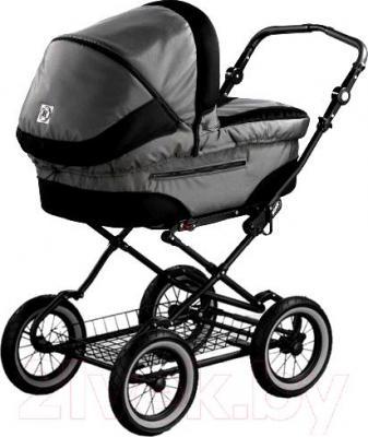 Детская универсальная коляска Roan Rocco (Anthracite) - общий вид