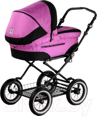Детская универсальная коляска Roan Rocco (Lilac) - общий вид