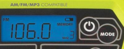Радиоприемник Ryobi CDR 180 M (5133000614)