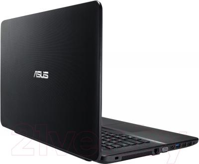 Ноутбук Asus R752MD-TY030H - вид сзади