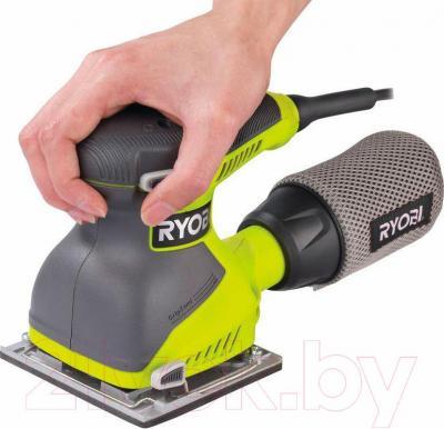 Вибрационная шлифовальная машина Ryobi EOS2410NHG (5133000348) - удобство работы
