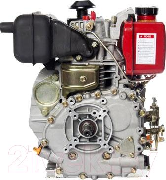 Двигатель дизельный ZigZag SR178F - вид сбоку