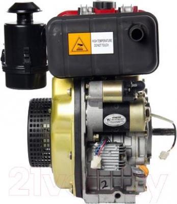 Двигатель дизельный ZigZag SR178FD - вид сбоку