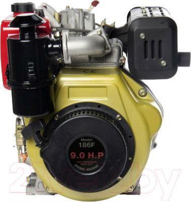 Двигатель дизельный ZigZag SR186F - общий вид