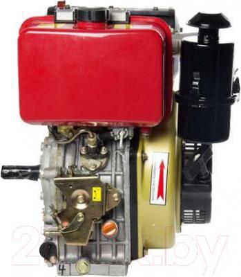 Двигатель дизельный ZigZag SR186F - вид сбоку