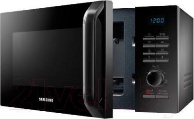 Микроволновая печь Samsung MG23H3115NK/BW - вид в проекции