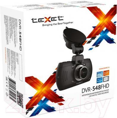 Автомобильный видеорегистратор TeXet DVR-548 - коробка