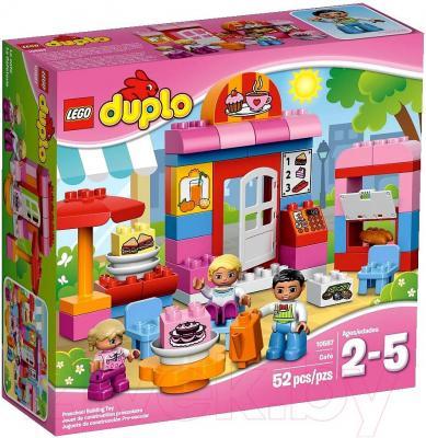 Конструктор Lego Duplo Кафе (10587) - упаковка