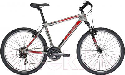 Велосипед Trek 3500 (21, Titanium-Red, 2014) - общий вид