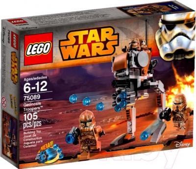 Конструктор Lego Star Wars Элитное подразделение Коммандос Сената (75088) - упаковка