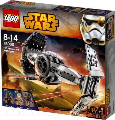 Конструктор Lego Star Wars Улучшенный Прототип TIE Истребителя (75082) - упаковка