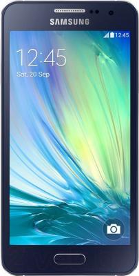 Смартфон Samsung Galaxy A3 / A300F/DS (черный) - общий вид