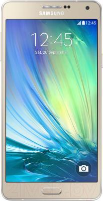 Смартфон Samsung Galaxy A7 / A700FD (золотой) - общий вид