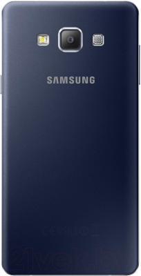 Смартфон Samsung Galaxy A7 / A700FD (черный) - вид сзади