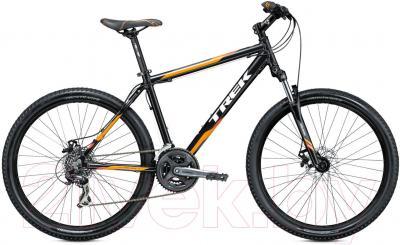Велосипед Trek 3500 Disc (21, черно-оранжевый, 2014) - общий вид