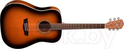Акустическая гитара Washburn WD7SATB - общий вид
