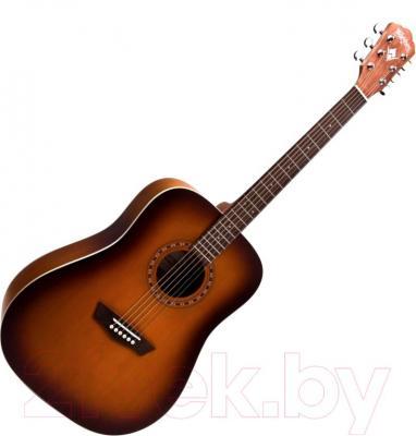 Акустическая гитара Washburn WD7SATBM - общий вид