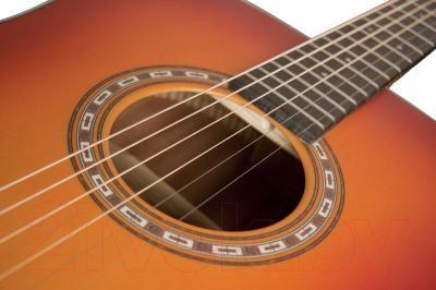 Акустическая гитара Washburn WD7SATBM - дека