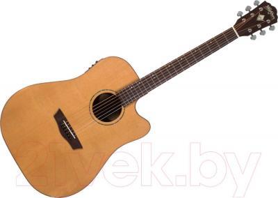 Электроакустическая гитара Washburn WD260SWCE - общий вид