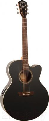 Электроакустическая гитара Washburn WJ7SCEBM - общий вид