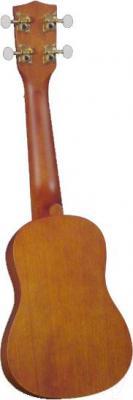 Акустическая гитара Diamond Head Soprano Du-200 - вид сзади