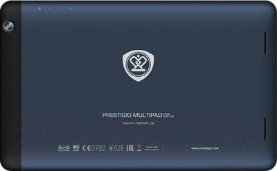 Планшет Prestigio MultiPad Muze 5001 8GB 3G (PMT5001_3G_C_BL) - вид сзади