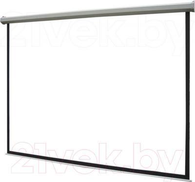 Проекционный экран Classic Solution Norma 203x203 (W 195x110/9 MW-L8/W) - общий вид
