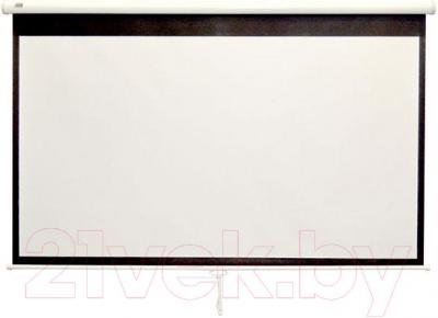 Проекционный экран Classic Solution Norma 210x183 (W 203x114/9 MW-S0/W) - общий вид