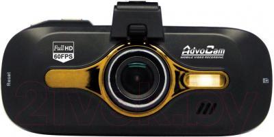 Автомобильный видеорегистратор AdvoCam FD-8 Gold GPS - фронтальный вид