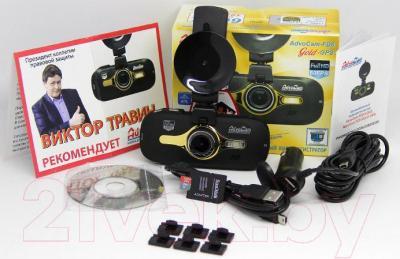 Автомобильный видеорегистратор AdvoCam FD-8 Gold GPS - комплектация