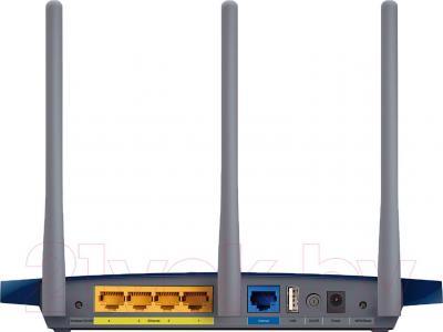 Беспроводной маршрутизатор TP-Link TL-WR1045ND - вид сзади