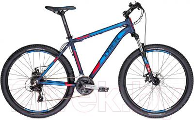 Велосипед Trek 3700 Disc (21, Blue-Red, 2014) - общий вид