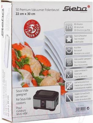 Вакуумные пакеты Steba VK 22x30 - в упаковке